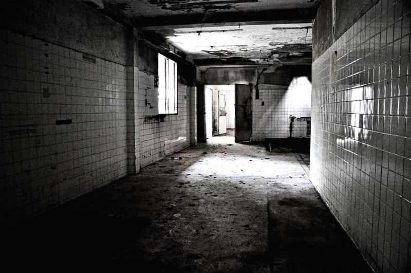 Разрушенный отель