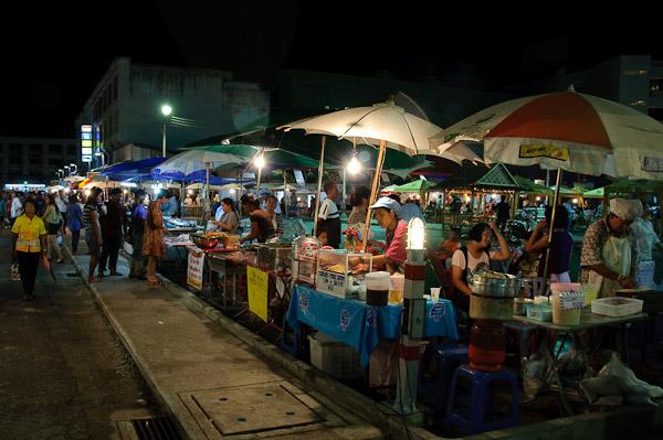Krabi Walking Street